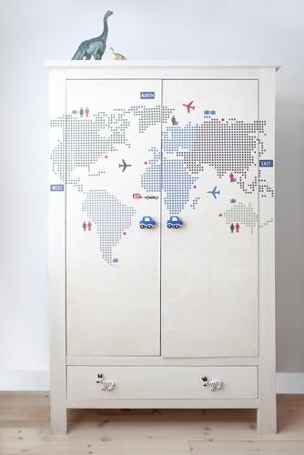 mapa do pokoju dziecięcego