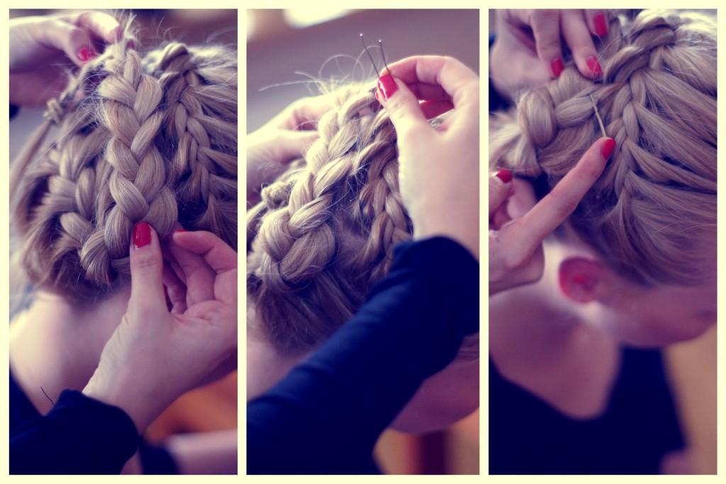 warkocz francuski, warkocz koszyczek, warkocz, modna fryzura dla młodej mamy