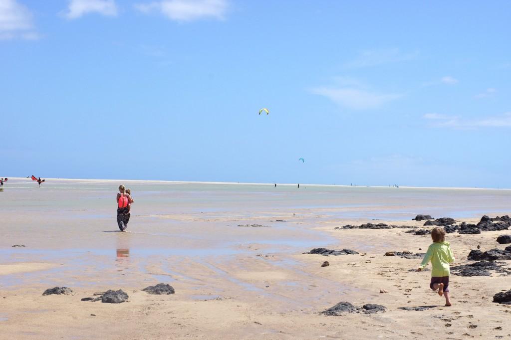 Playa de Sotavento, fuerteventura, jandia