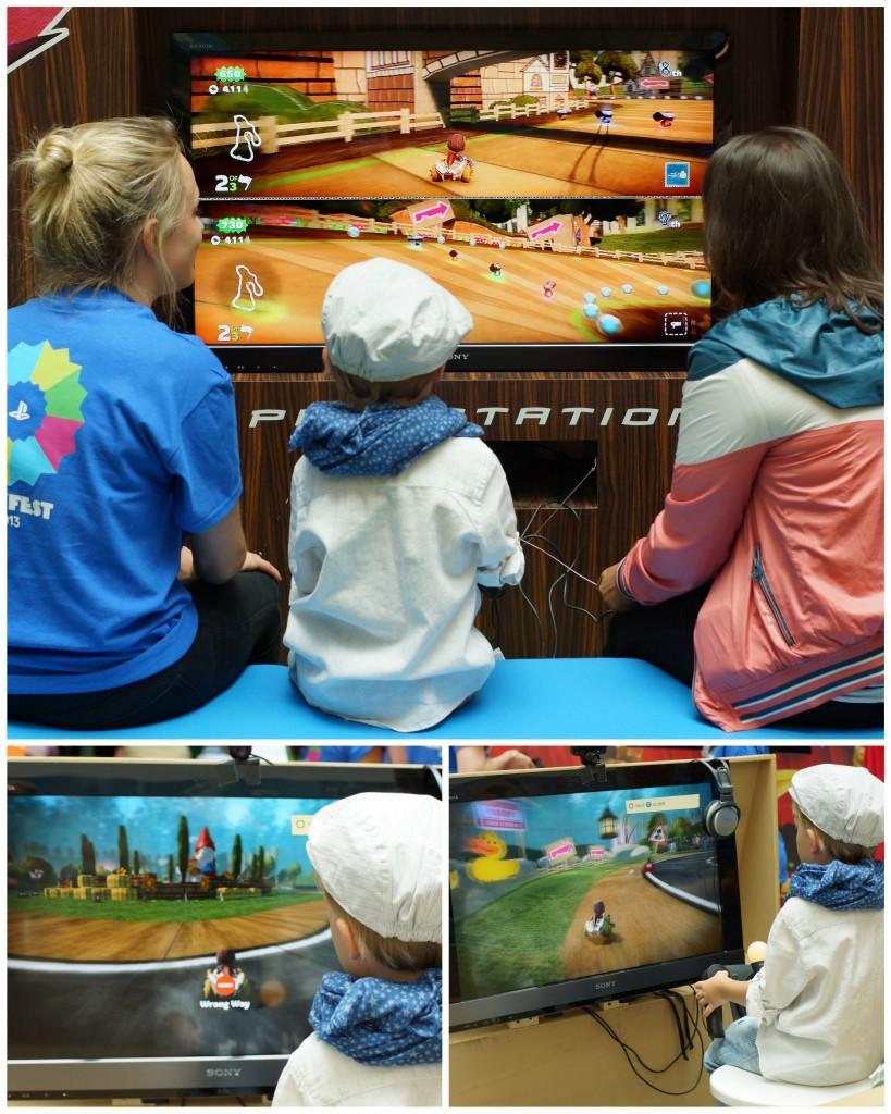 ps4, playstation 4, playfest, sony playstation, london playfest, mario kart