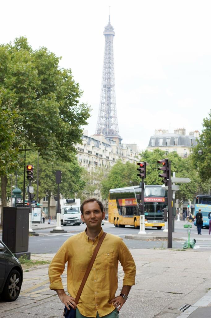 Paryż wieża eifla