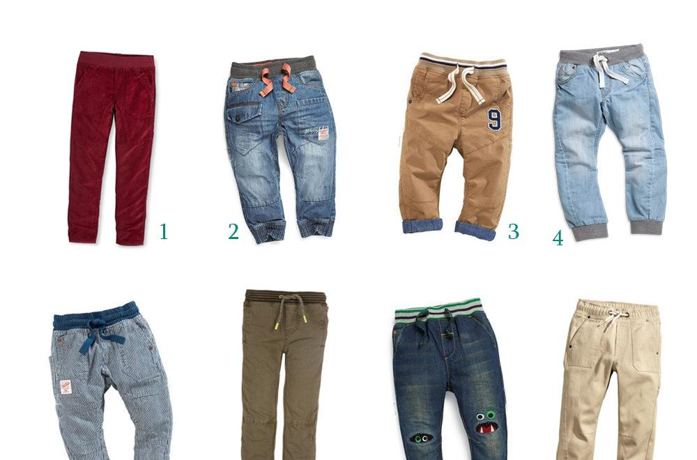 Spodnie dla starszego chłopca 04