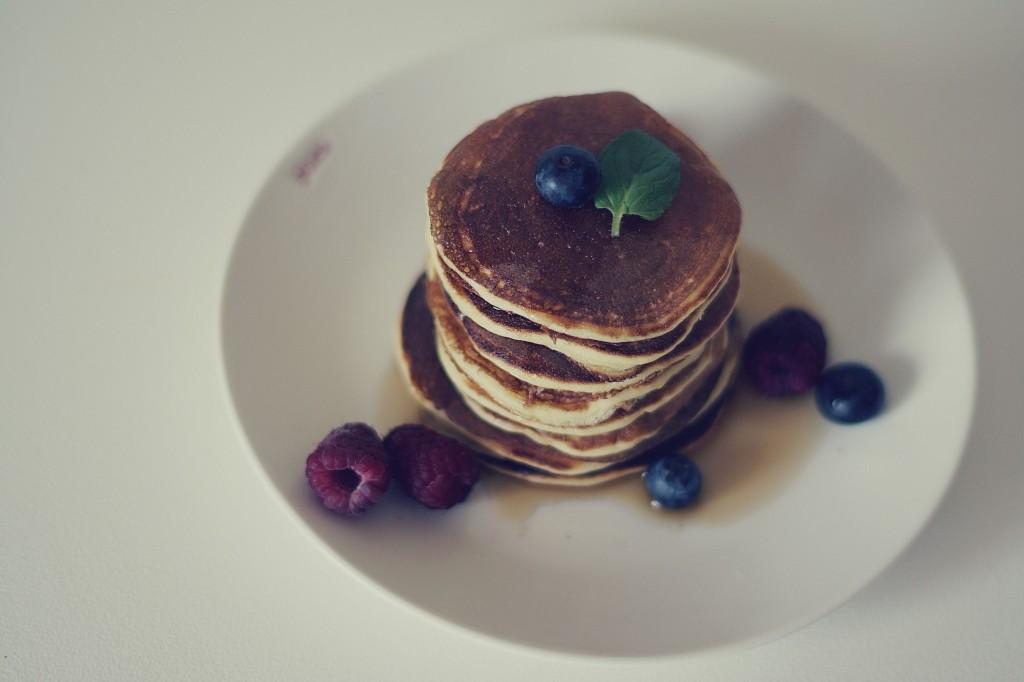 pancakes, placuszki z serkiem