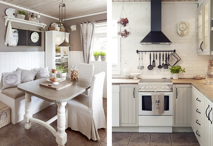 Projekty kuchni  inspiracje  Makóweczki -> Kuchnia W Bloku W Bieli