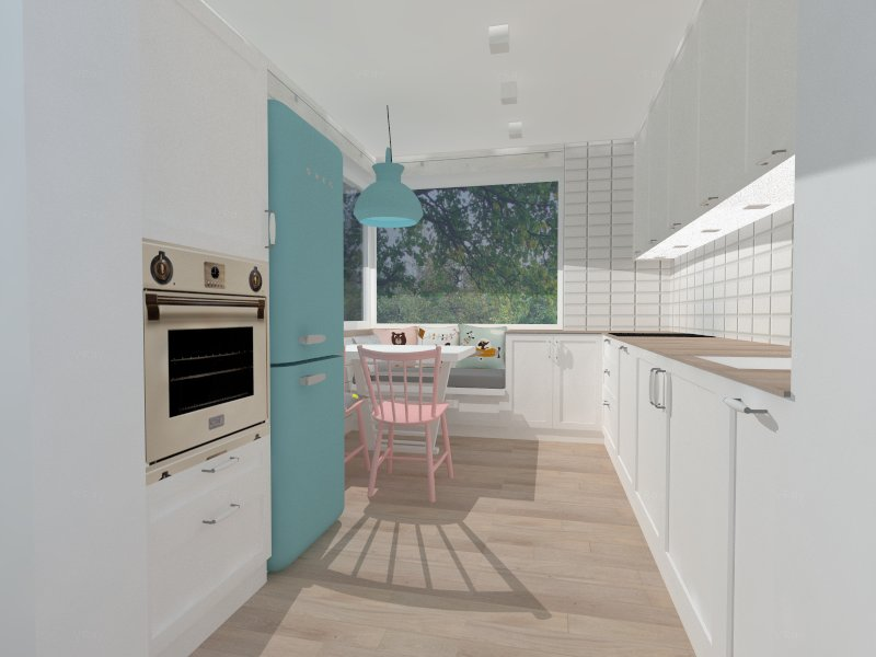 kuchnia skandynawska projekt