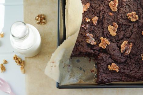 Brownie z kaszy jaglanej (bezglutenowe!) 08