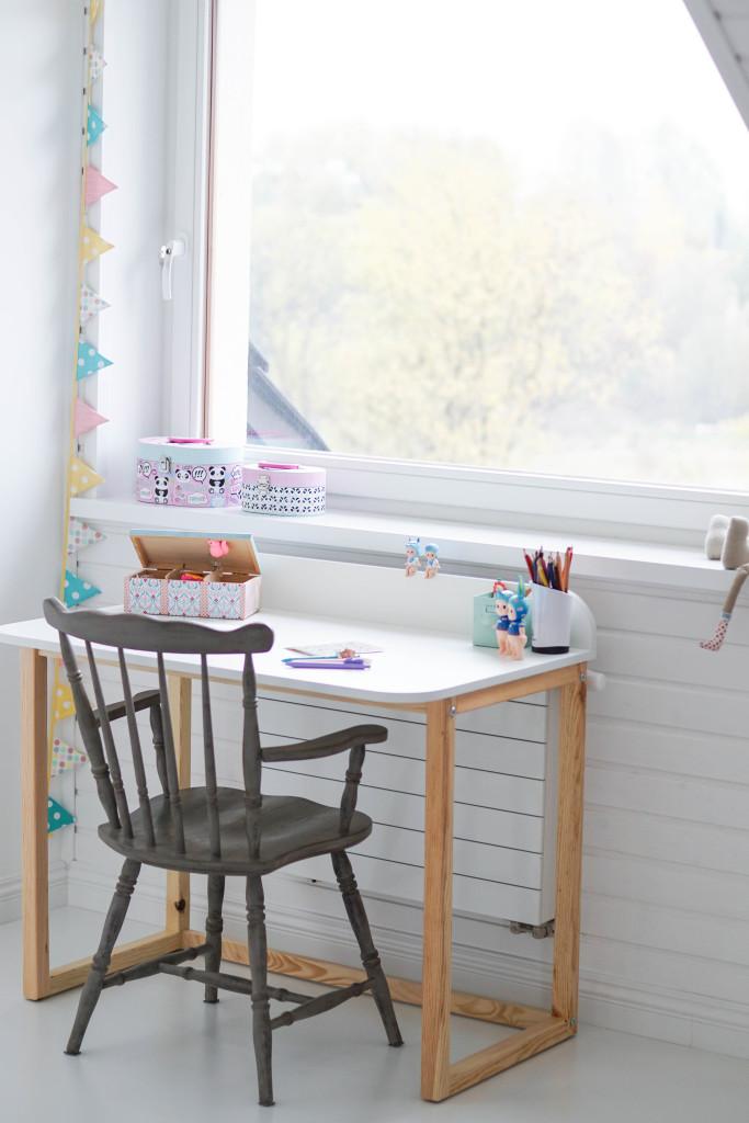 biurko dla dziewczynki