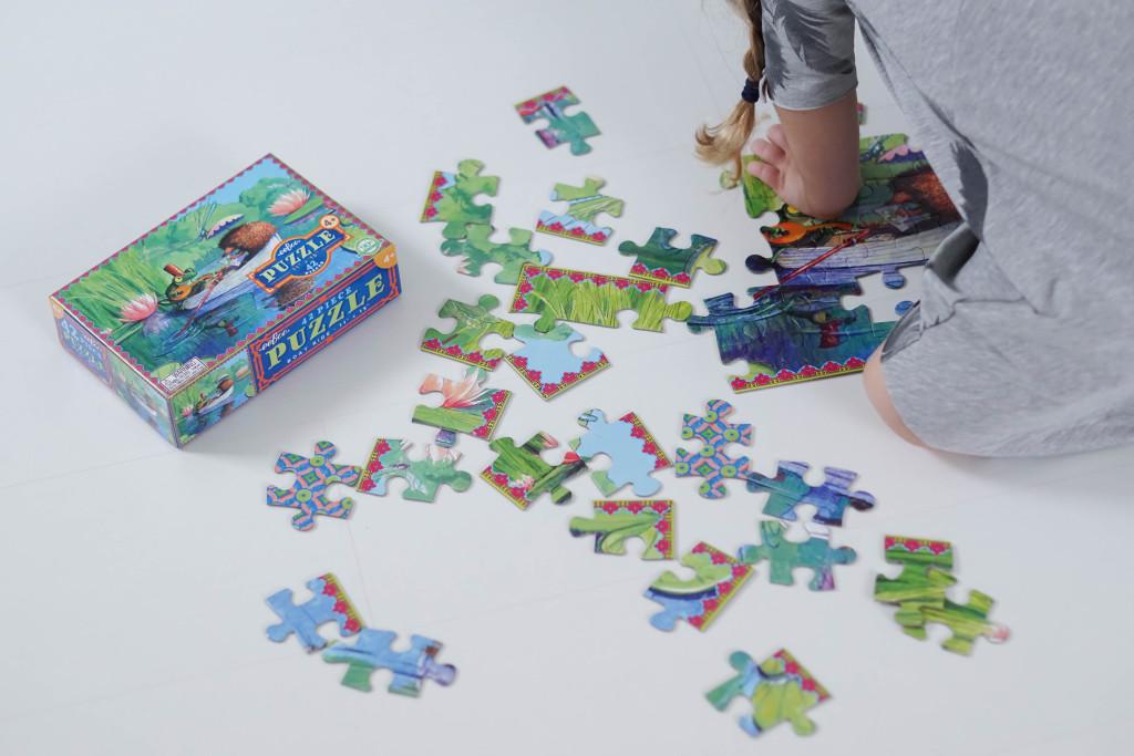 Puzzle Boat Ride