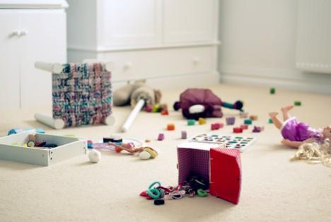 Jak nauczyć dziecko sprzątać swój pokój? 01