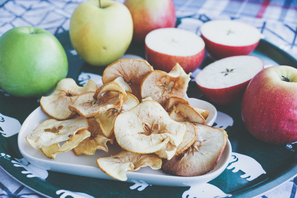 Chipsy jabłkowe, apple chips