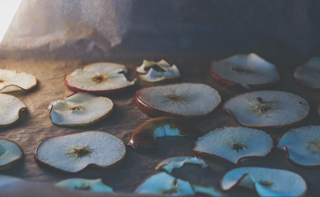 Chipsy jabłkowe, apple chips