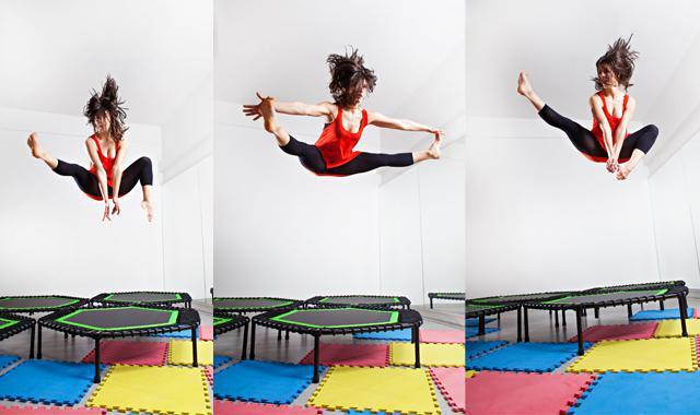 trampolinki