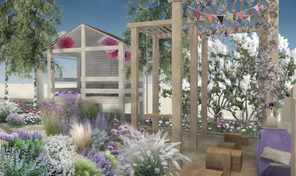 projekt ogrodu, wizualizacja ogrodu