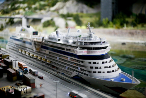 Hamburg Port i Miniatur Wunderland 01