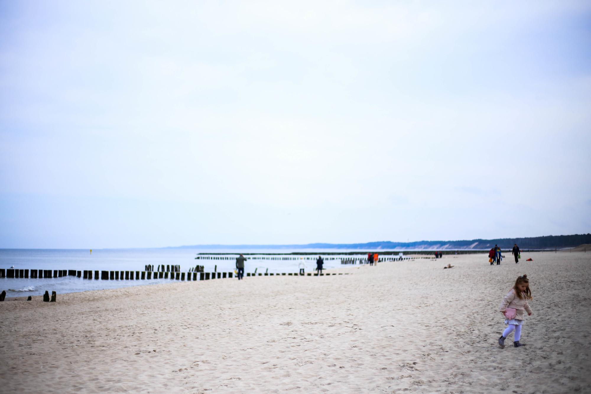 ustka plaża