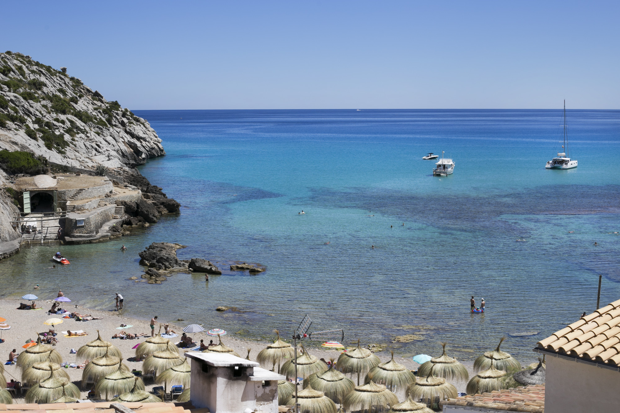 Cala San Vincente, Mallorca, Majorka plaża