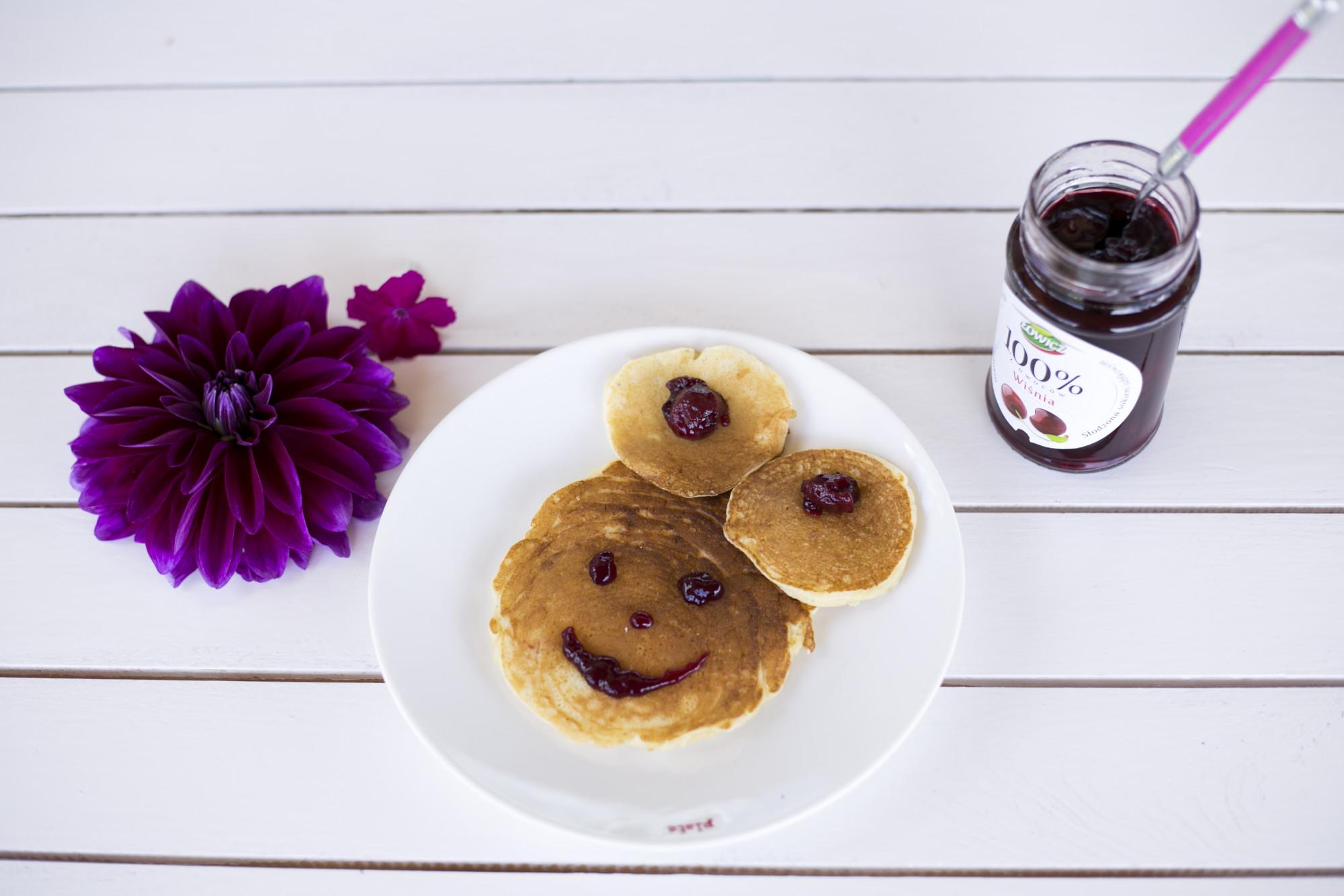 pancakes, łowicz 100% z owoców