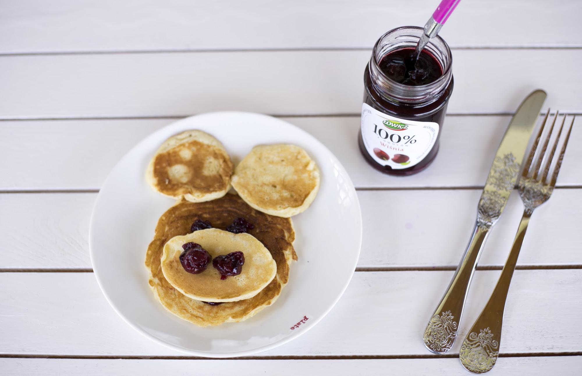pancakres, łowicz dżem z owoców