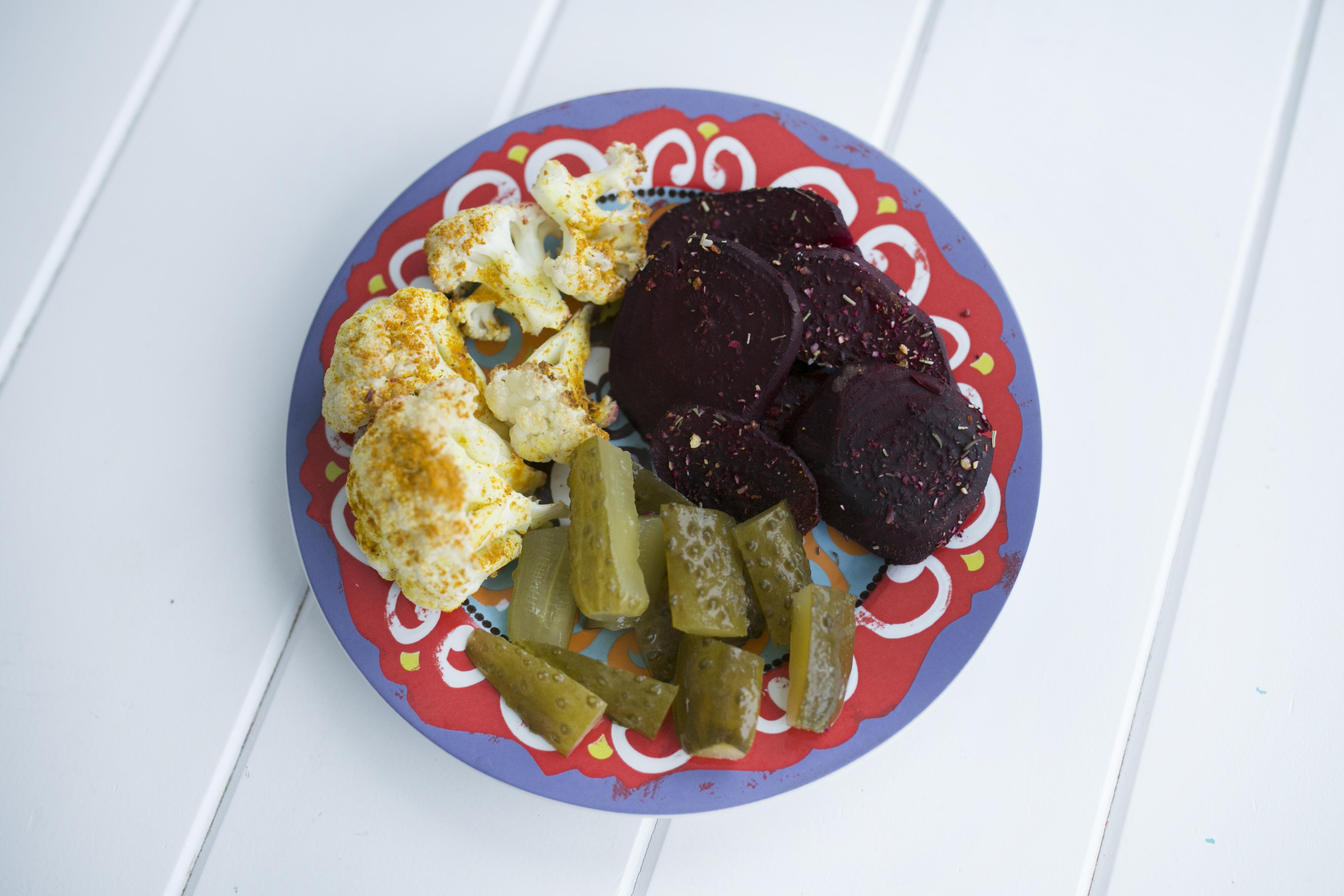kalafior zapiekany w curry, dieta dąbrowskiej