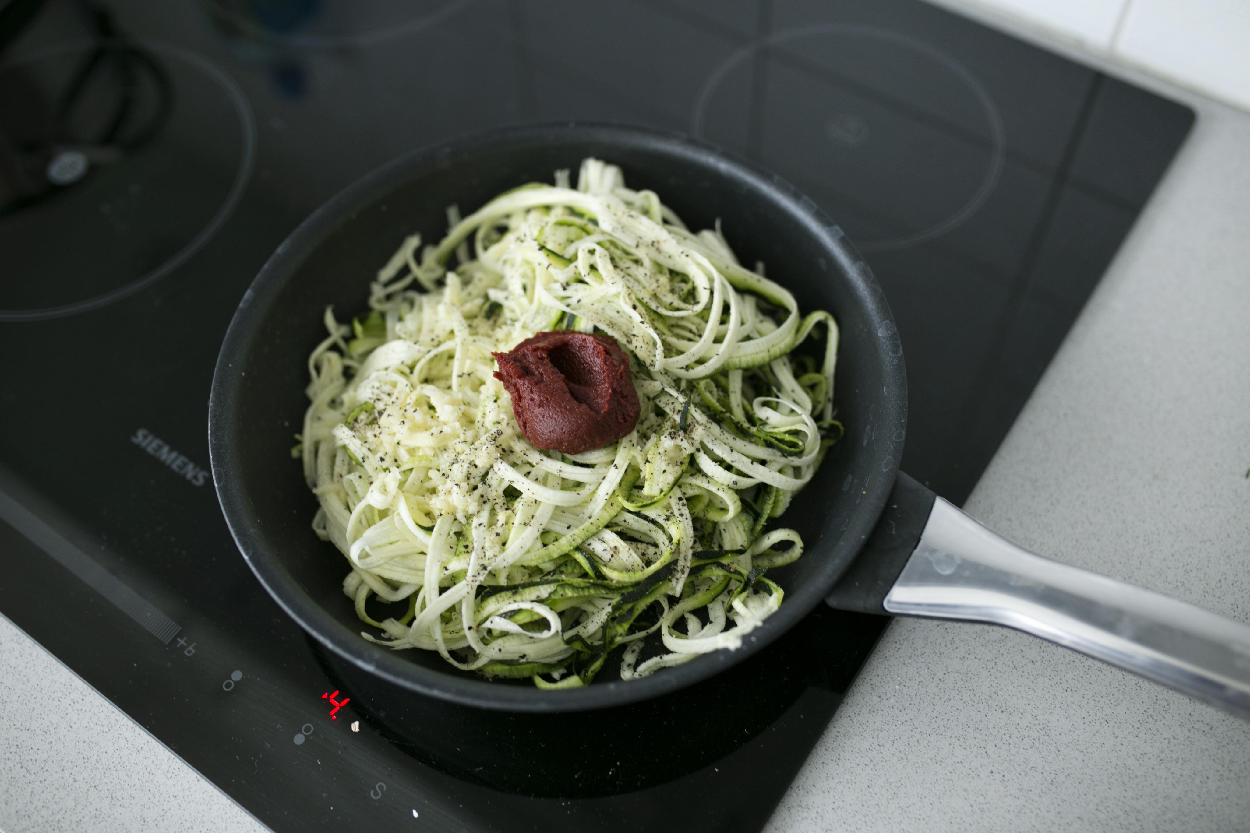 Spaghetti z cukinii, dieta dąbrowskiej