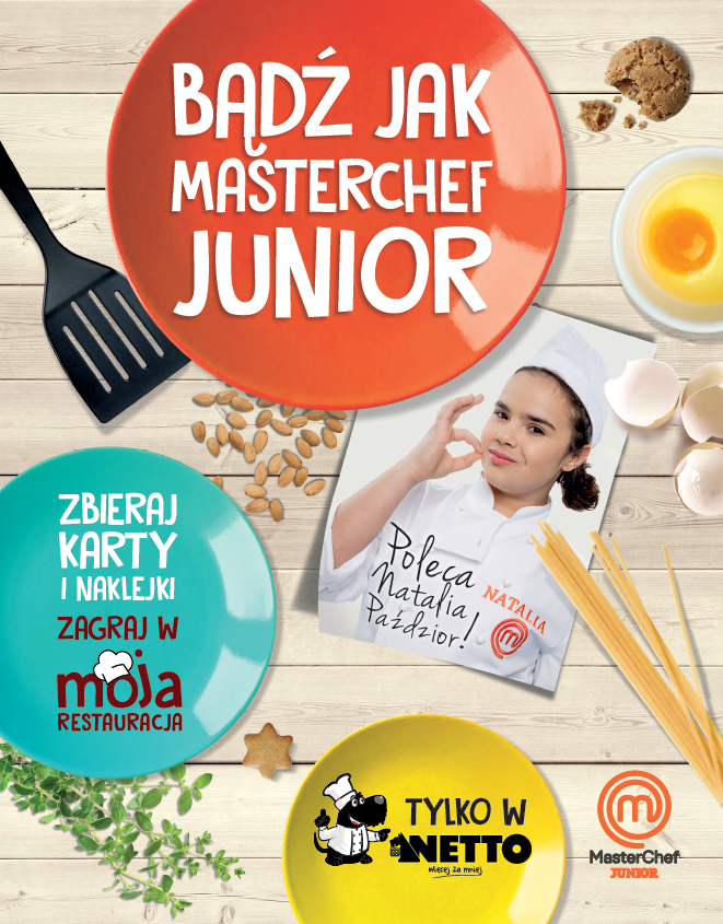 masterchef junior, netto