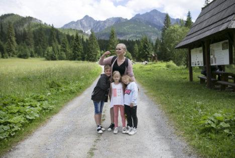 Góry z dzieckiem - nowe szlaki polskie i słowackie 22