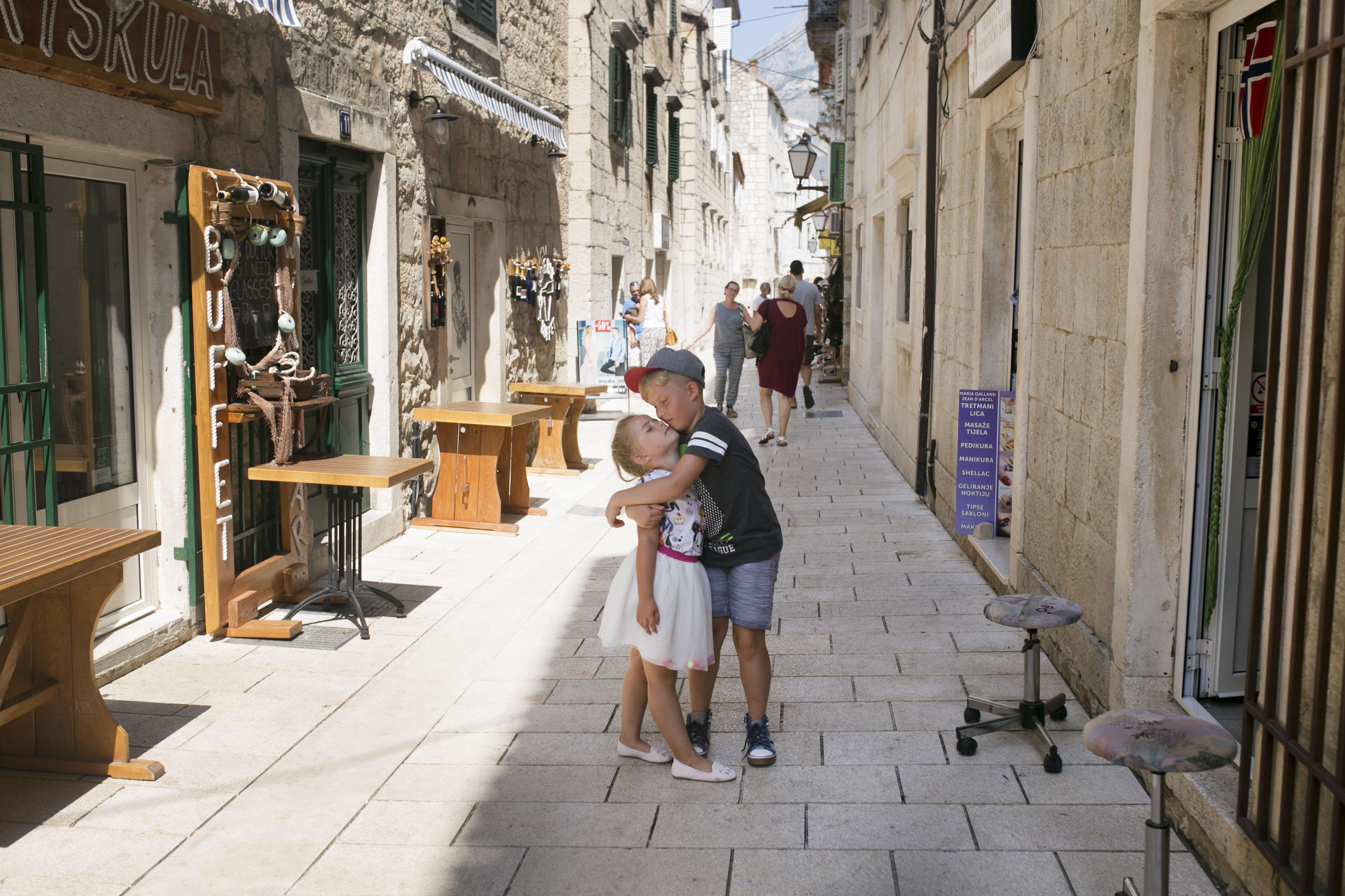 Makarska stare miasto