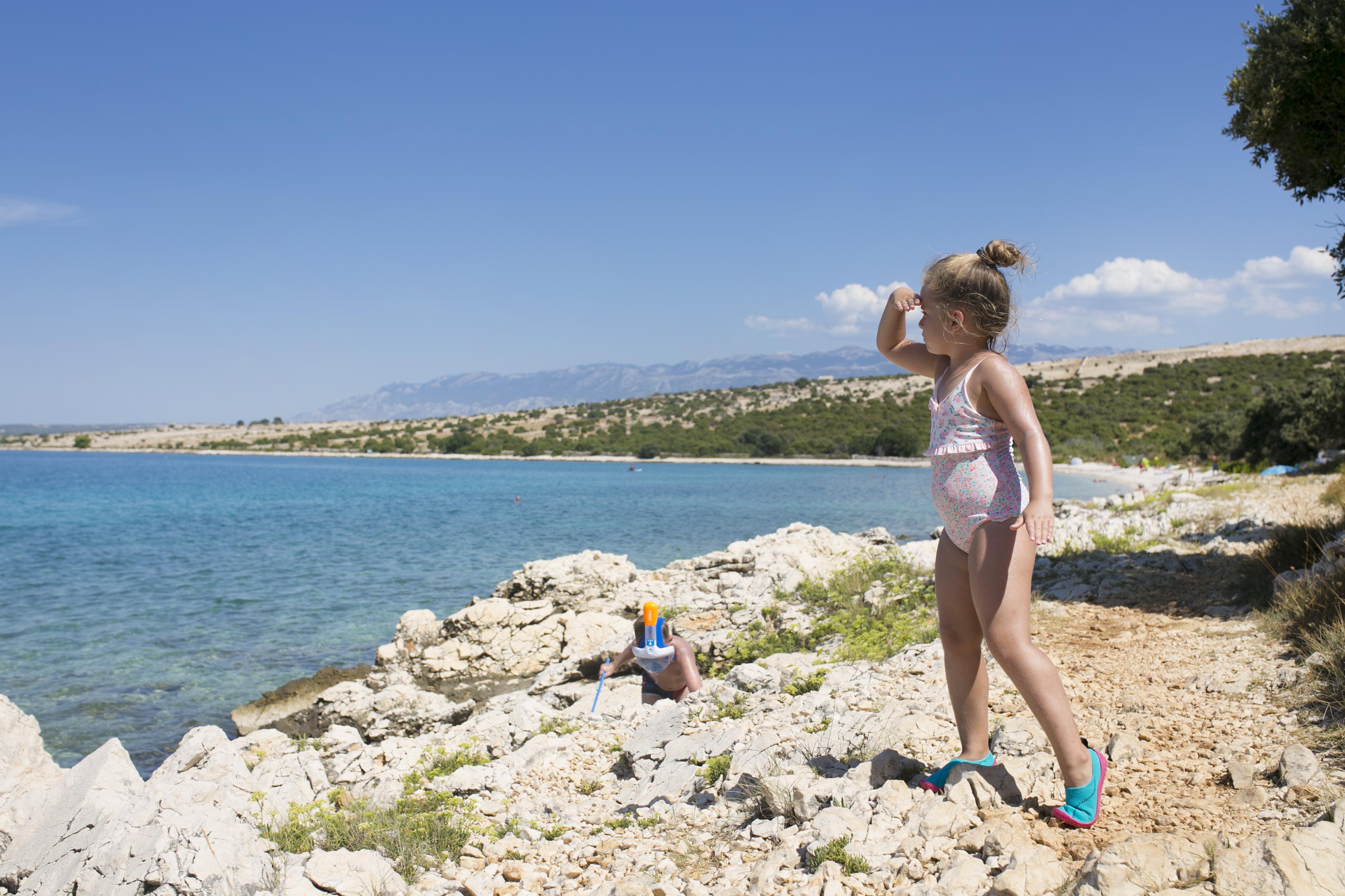 Gierenica plaża, Gierenica, plaże pag, najpiękniejsza plaża Pag