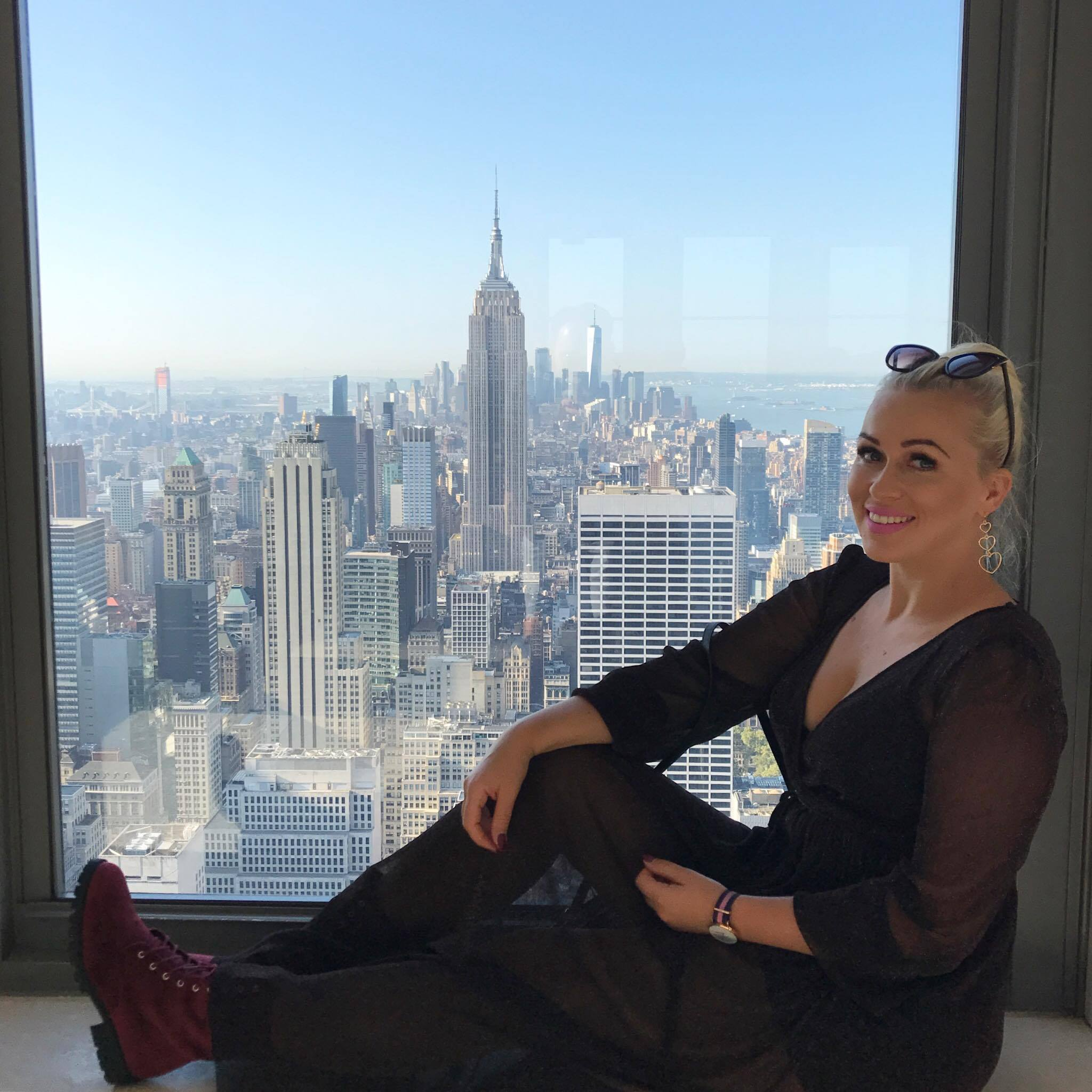 nowy jork, new york, NY, manhattan, top of the rock