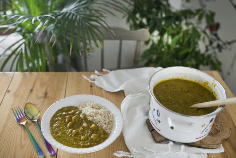 Curry z dyni z masłem orzechowym 02