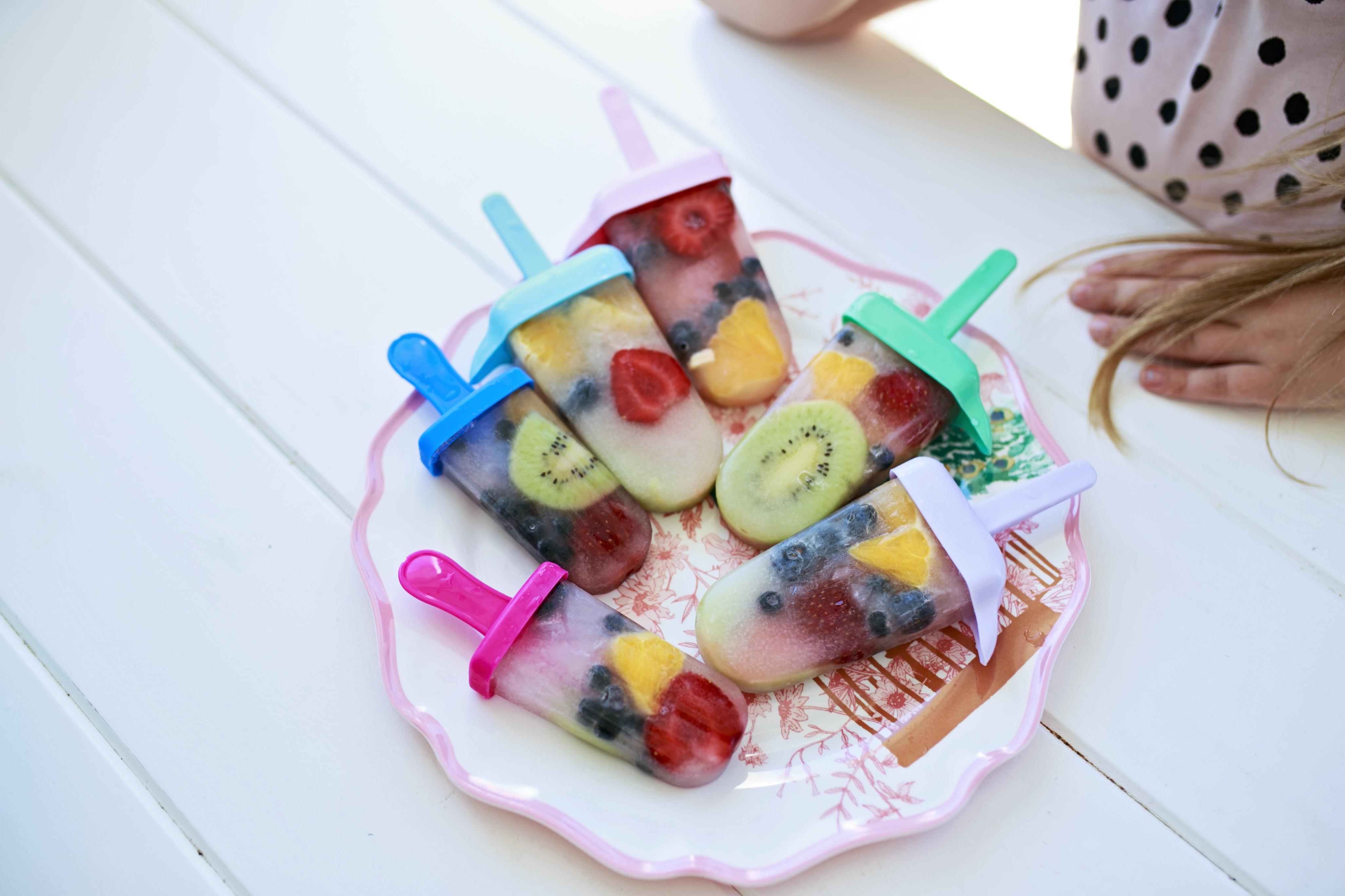 domowe sorbety, zdrowe lody, zdrowy sorbet, popsicles