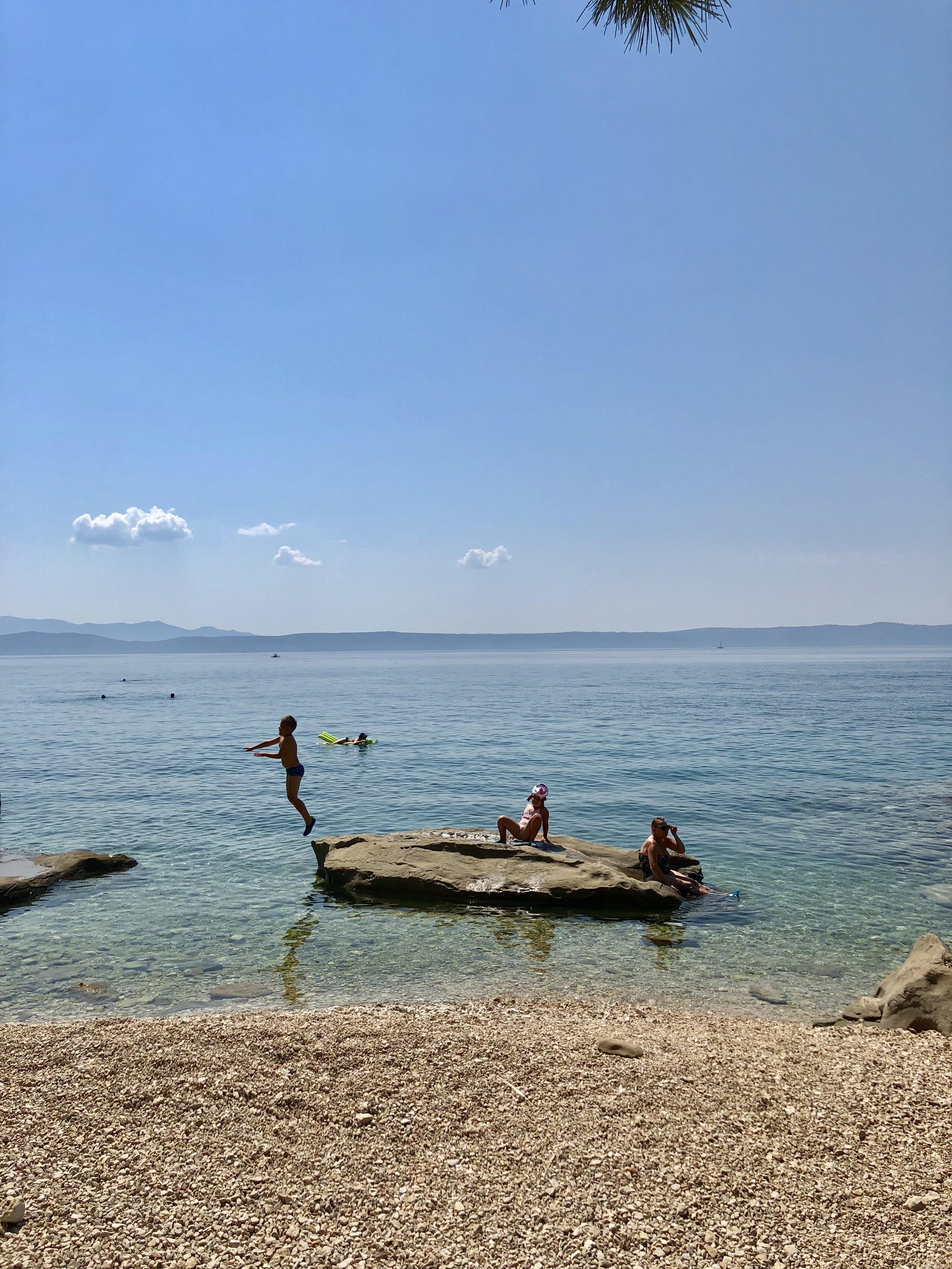 chorwacja, croatia, podgora, plaża