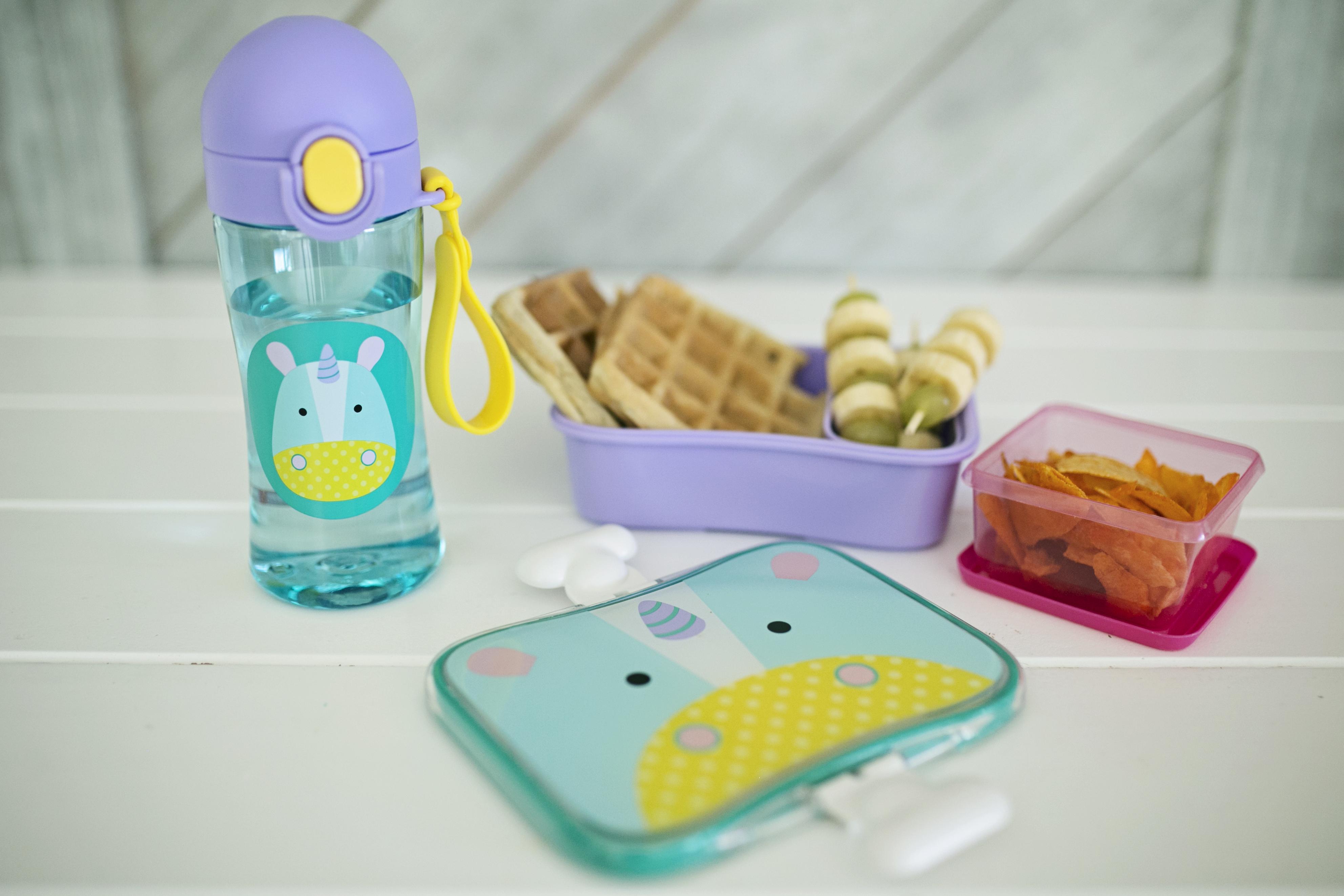 gofry bezglutenowe, zdrowy lunchbox do szkoły