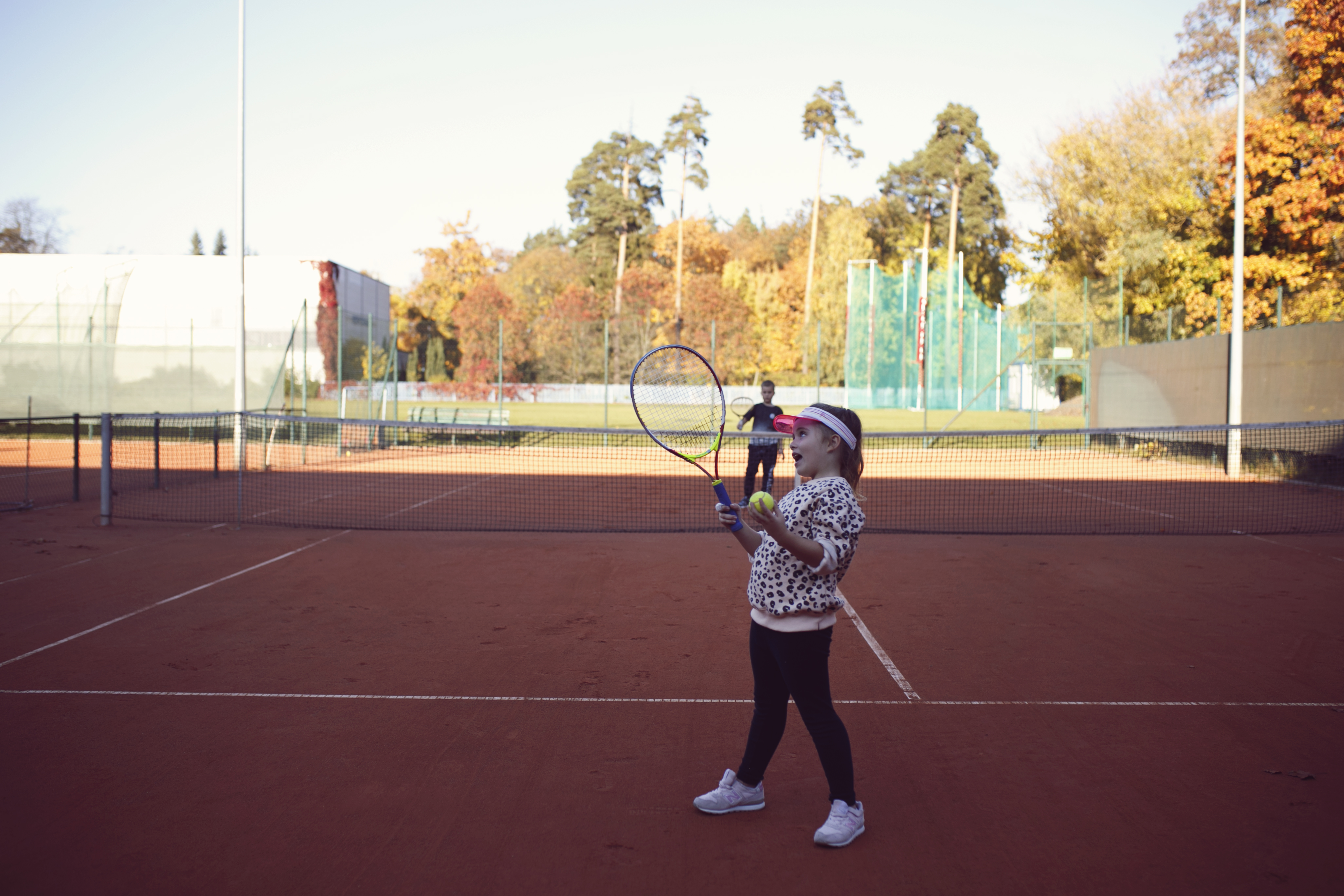 tenis ziemny, dzieciaki do rakiet