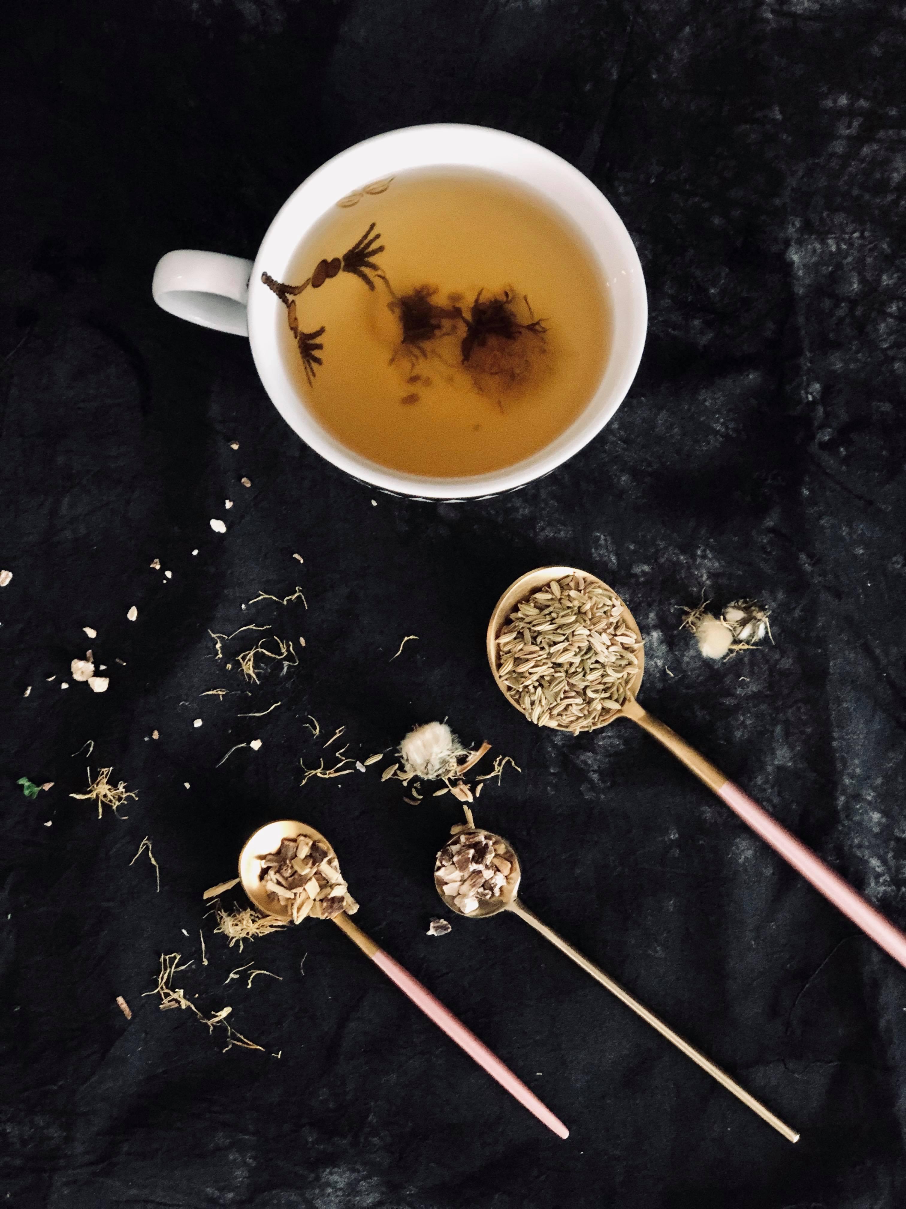 herbatka koper, herbatka żołądek, herbatka jelita