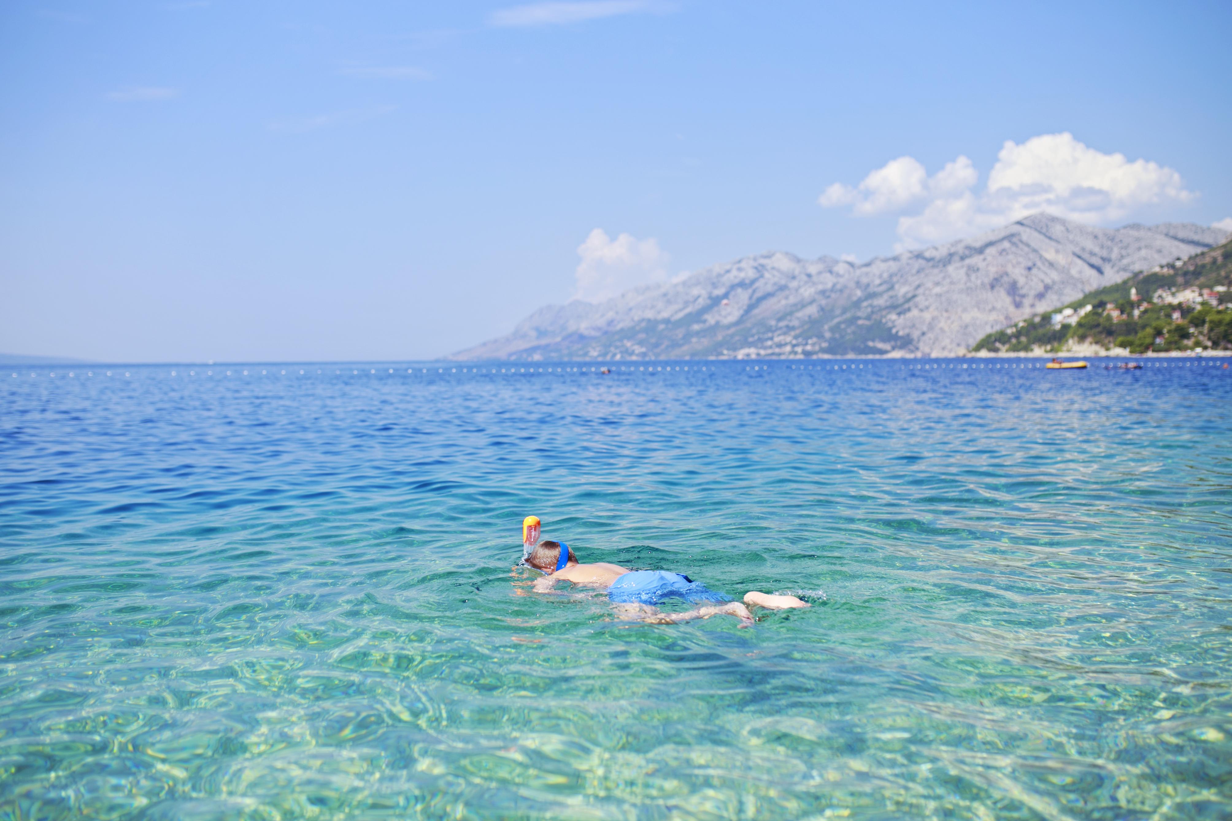 chorwacja snorkeling