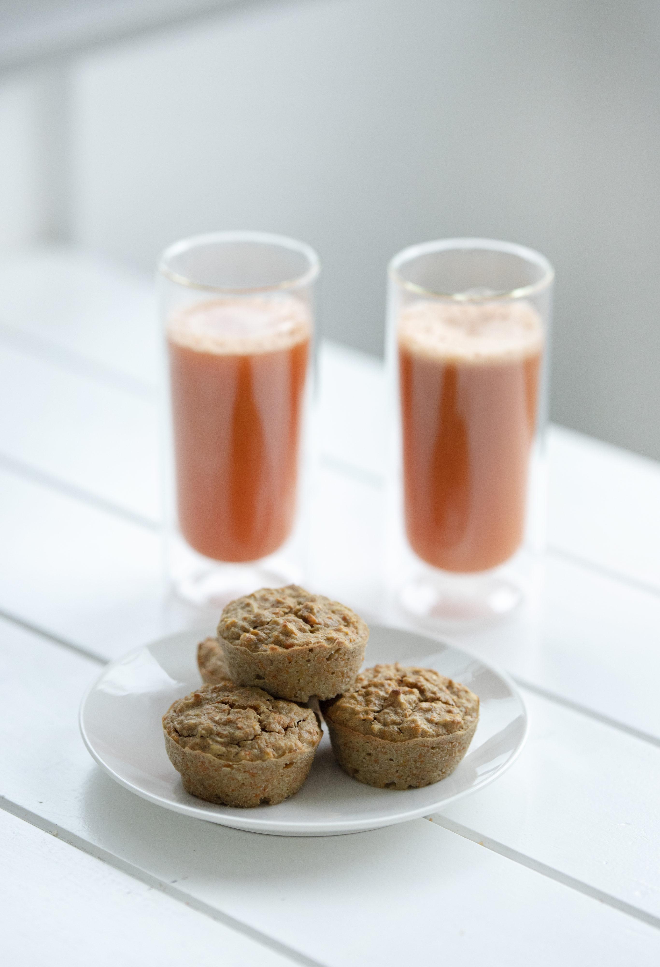 muffiny z wyciskarki